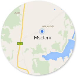 Mseleni Map circle